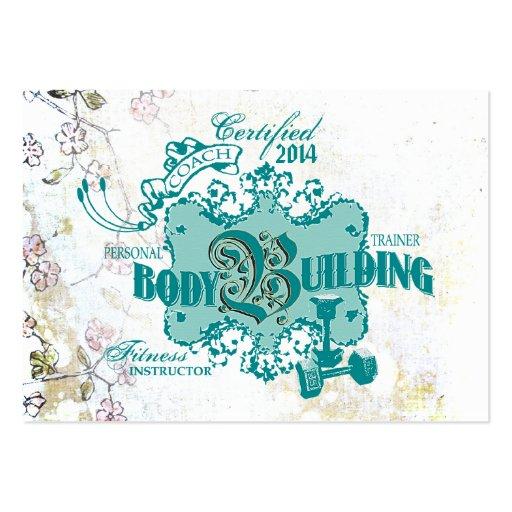 Culturismo - tarjeta del negocio/del horario para  tarjetas personales
