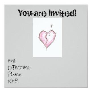 Cumpleaños adolescente de las invitaciones del invitación 13,3 cm x 13,3cm