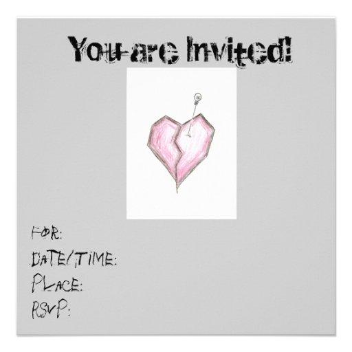 Cumpleaños adolescente de las invitaciones del crá anuncio