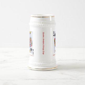 Cumpleaños ambarino jarra de cerveza