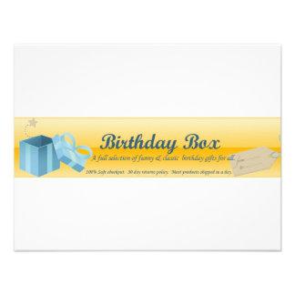 cumpleaños-caja-jefe comunicado personalizado