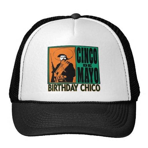 CUMPLEAÑOS CHICO de Cinco de Mayo Gorros Bordados