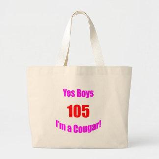 Cumpleaños de 105 pumas bolsa