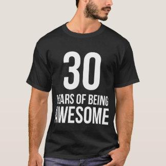 Cumpleaños de 30 años camiseta