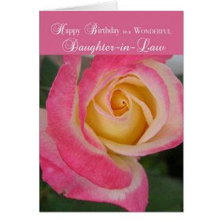 Cumpleaños de 3413 nueras, religioso tarjeta de felicitación