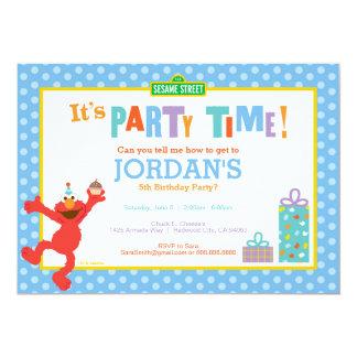 Cumpleaños de Elmo Invitación 12,7 X 17,8 Cm