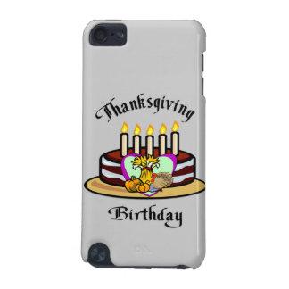 Cumpleaños de la acción de gracias funda para iPod touch 5G