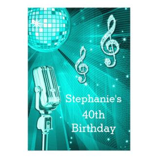 Cumpleaños de la bola de discoteca del trullo y comunicado