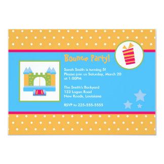 Cumpleaños de la casa de la despedida invitación 12,7 x 17,8 cm