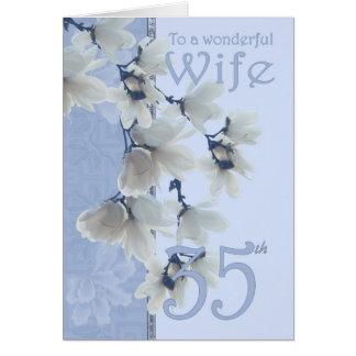 Cumpleaños de la esposa 35 - esposa de la tarjeta