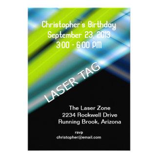 Cumpleaños de la etiqueta del laser