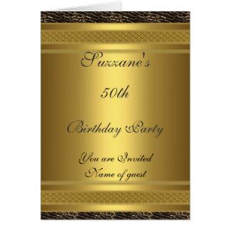 Cumpleaños de la invitación de la fiesta de cumple tarjetón