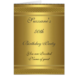 Cumpleaños de la invitación de la fiesta de cumple tarjeton