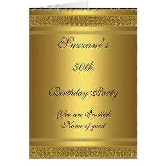 Cumpleaños de la invitación de la fiesta de cumple tarjeta de felicitación