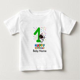 Cumpleaños de la primera camiseta del aniversario