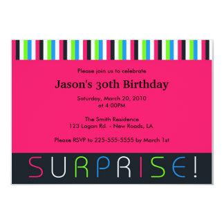 Cumpleaños de la sorpresa