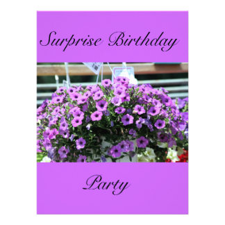 cumpleaños de la sorpresa invitacion personal