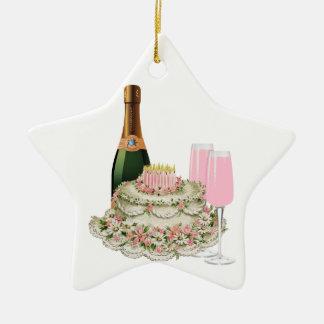 Cumpleaños de la tostada de Champán Ornato