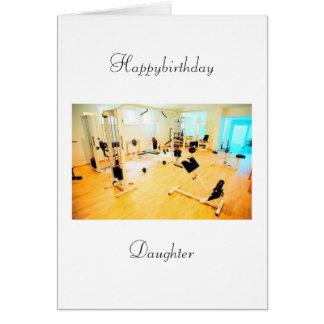 cumpleaños de las hijas tarjeta de felicitación