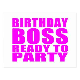 Cumpleaños de los jefes Cumpleaños Boss listo par