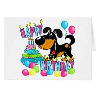 Cumpleaños de los perritos de PEGUI feliz - Bubba Tarjeta De Felicitación