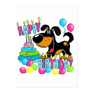 Cumpleaños de los perritos de PEGUI feliz - Bubba Postal