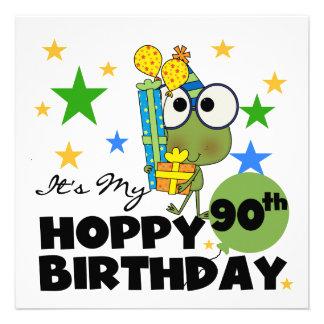 Cumpleaños de lúpulo del Froggy 90 o Anuncio