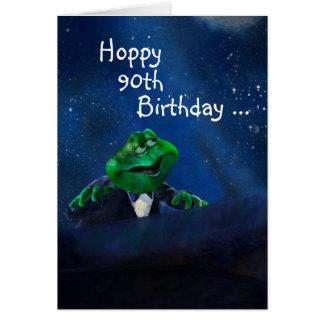 Cumpleaños de lúpulo en piano tarjeta de felicitación