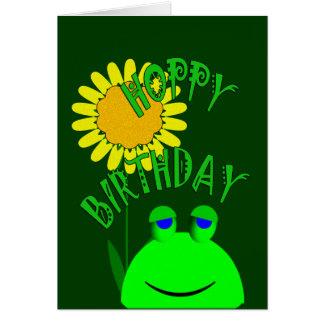 Cumpleaños de lúpulo tarjeta de felicitación