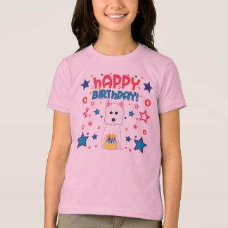 Cumpleaños de Westie Camiseta