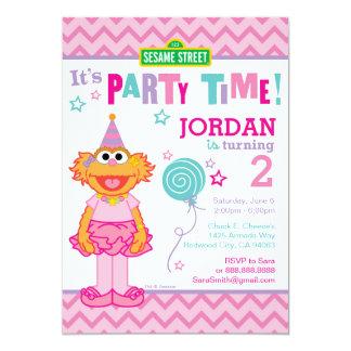 Cumpleaños de Zoe Invitación 12,7 X 17,8 Cm