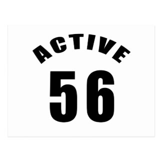 Cumpleaños del Active 56 Postal