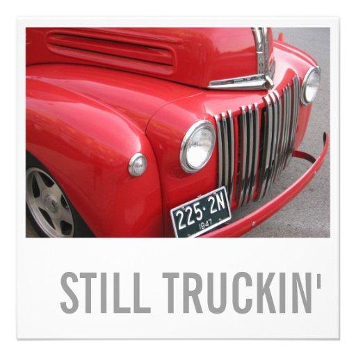 Cumpleaños del amante del camión 50.o - todavía ac anuncios