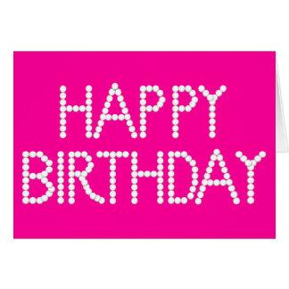 Cumpleaños del arco iris del fiesta del caramelo tarjeta de felicitación