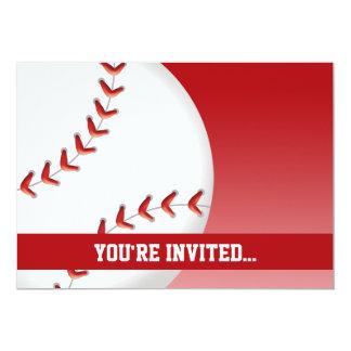 Cumpleaños del béisbol comunicado personal