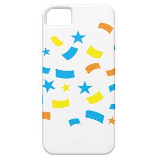 Cumpleaños del confeti iPhone 5 Case-Mate funda