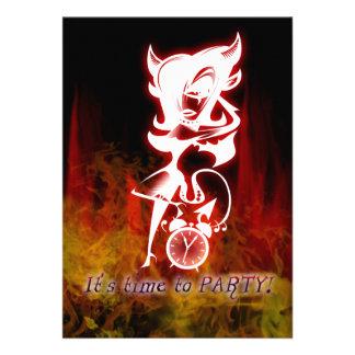 Cumpleaños del dulce 16 de la fantasía del gótico anuncio