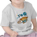 Cumpleaños del mono de Lil 1r Camiseta