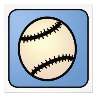 Cumpleaños del muchacho del guante de béisbol de l