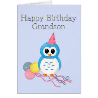 Cumpleaños del nieto felicitaciones