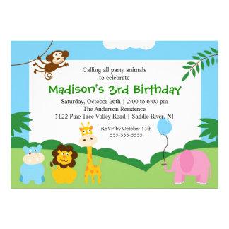 Cumpleaños del safari de la diversión 1r