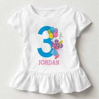Cumpleaños del Sesame Street el | Abby Cadabby Camiseta De Bebé