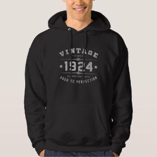 Cumpleaños del vintage 1924 sudadera