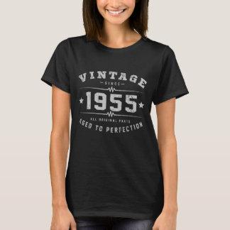 Cumpleaños del vintage 1955 camiseta