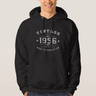 Cumpleaños del vintage 1956 sudadera