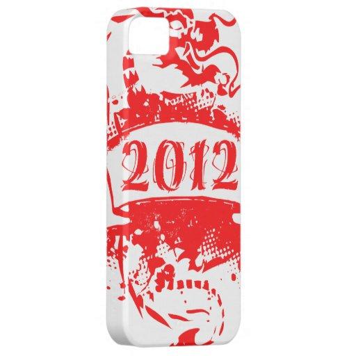 Cumpleaños del vintage 2012 y desde entonces iPhone 5 Case-Mate cárcasa