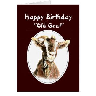 Cumpleaños divertido sobre el viejo humor de la ca felicitaciones