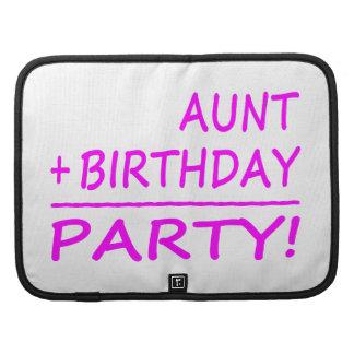 Cumpleaños divertidos de las tías: Tía + Cumpleaño Organizadores