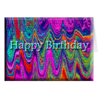 Cumpleaños fabuloso tarjeta de felicitación
