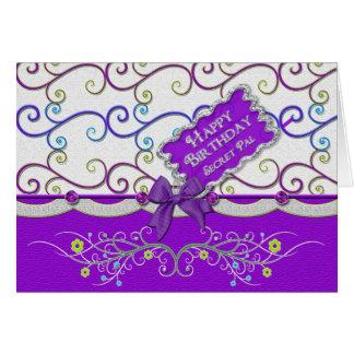 Cumpleaños - femenino - diversión tarjeta de felicitación